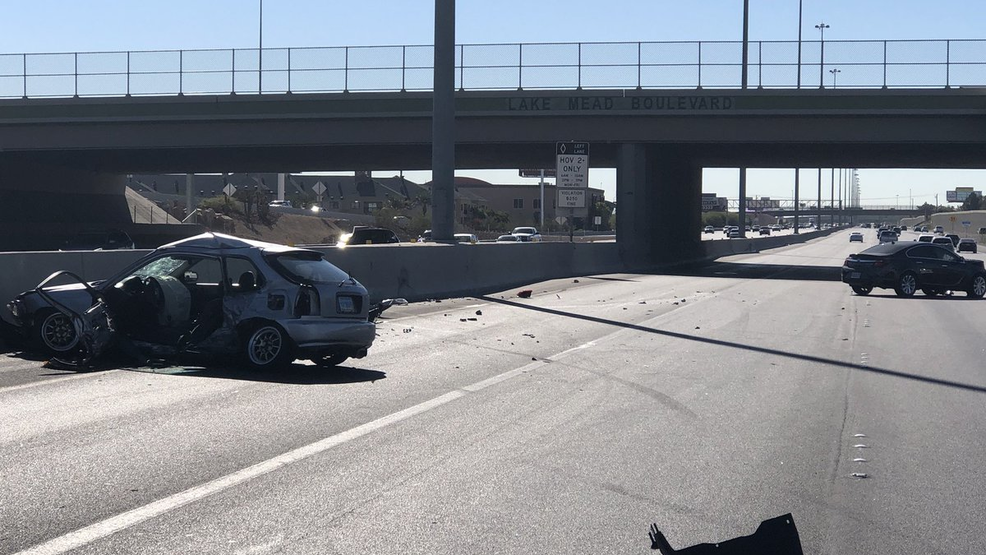 Man dies after two-car crash on southbound US 95 near Lake