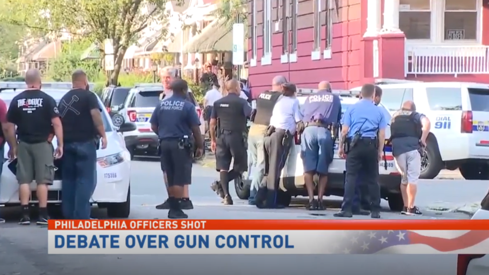 Lawmakers call for stricter gun legislation following Philadelphia stand-off
