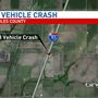 Three Vehicle Crash on I-57 in Coles County
