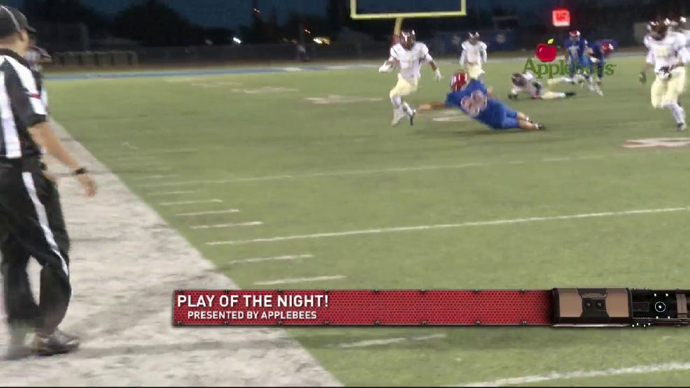 Play of the Night: Andress's Lewis kickoff return in the game against Irvin