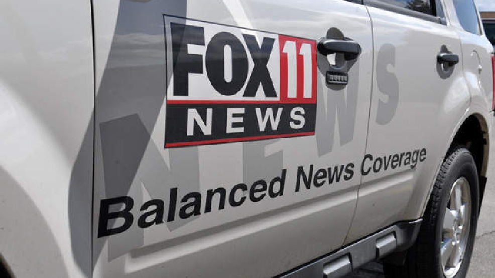 FOX 11 News vehicle