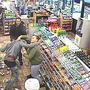 Five involved in a fight damage a River Road convenience store