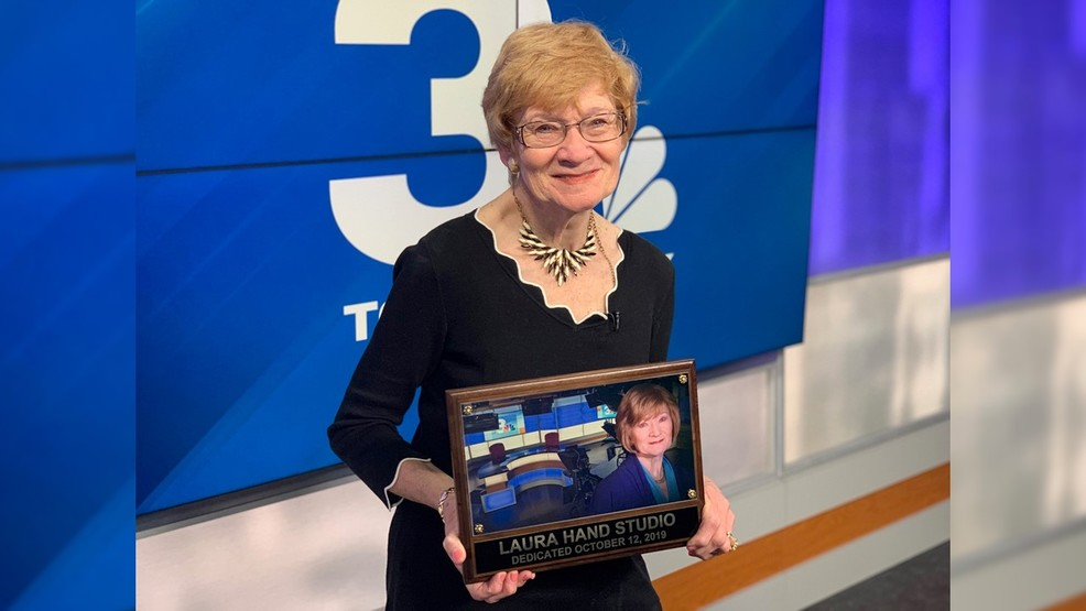 Longtime anchor retires, NBC3 studio renamed in her honor