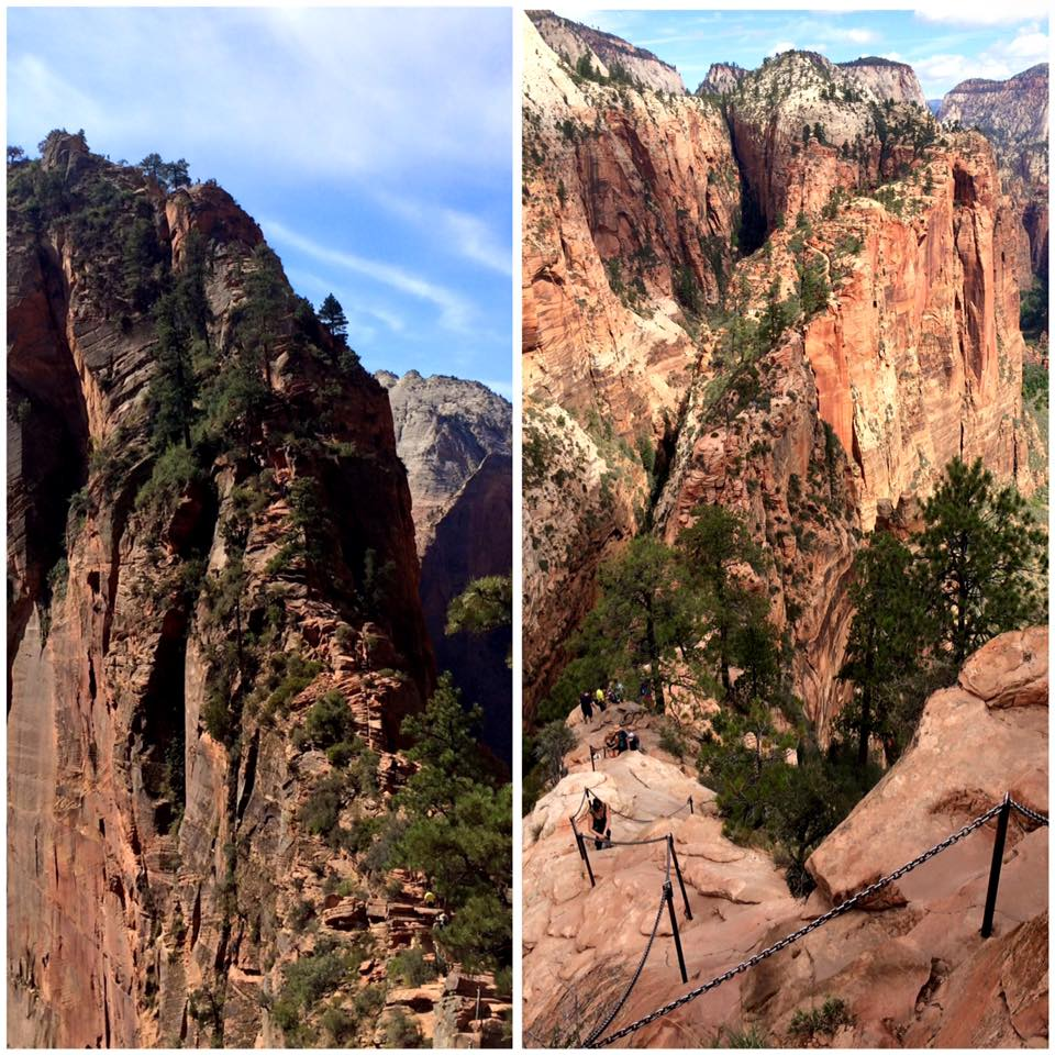 Angels Landing in Zion National Park (Photo: Jeff Tuscano)