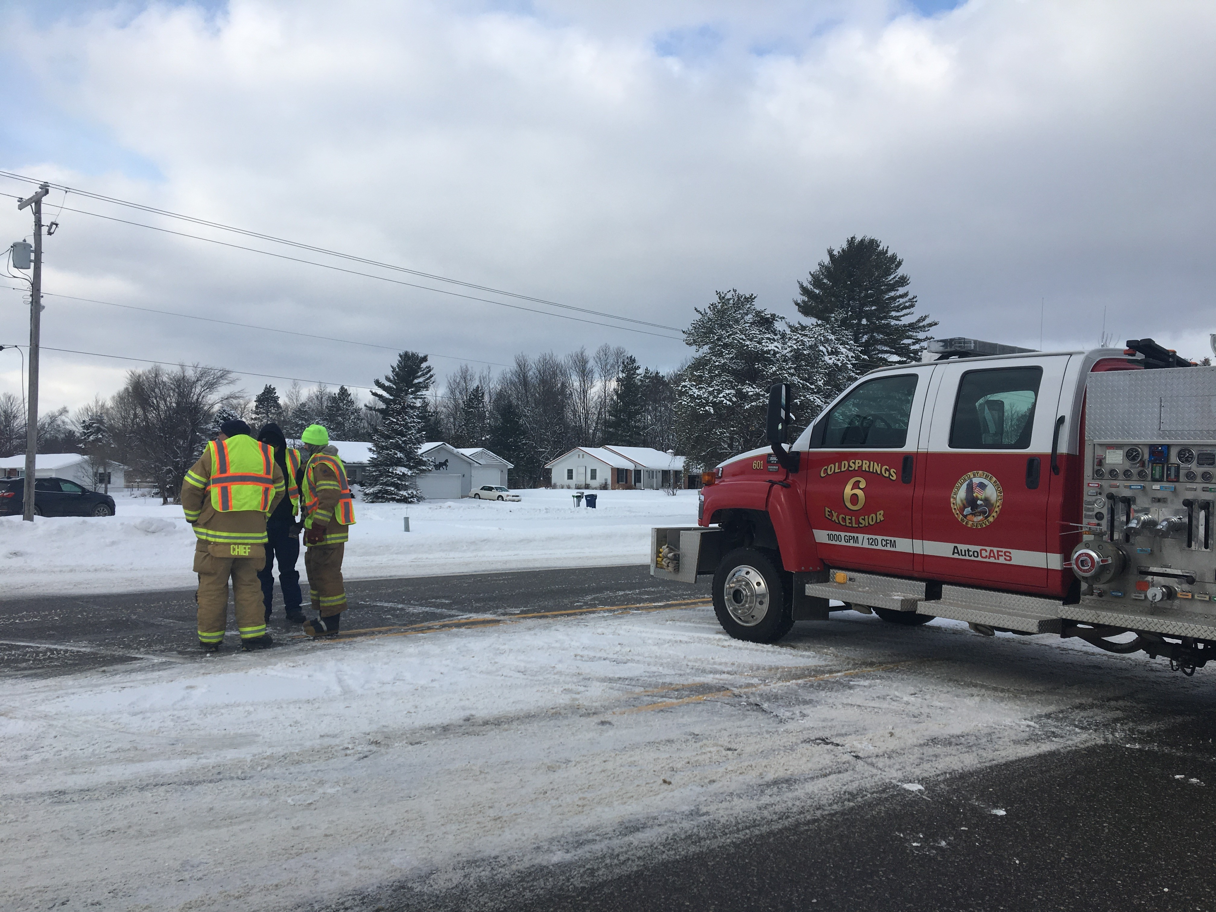 One person is dead after a crash in Kalkaska County.