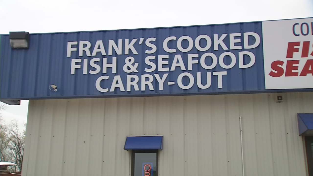 Frank's Cooked Fish and Seafood Carry-Out is this week's Clean Plate Award winner. (WSYX/WTTE)