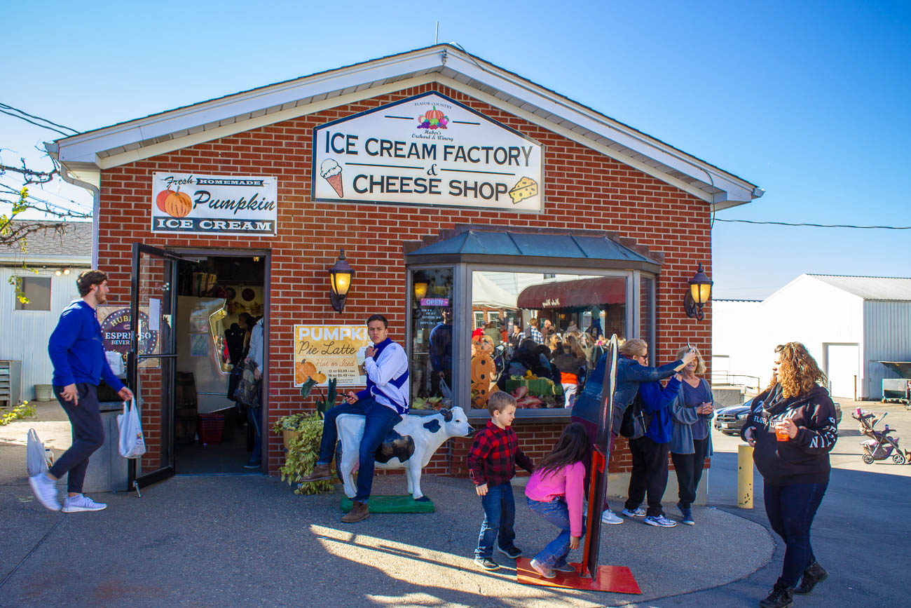 Ice Cream Factory & Cheese Shop can be found at Huber's Orchard Winery & Vineyard. / Image: Katie Robinson, Cincinnati Refined // Published: 10.25.18