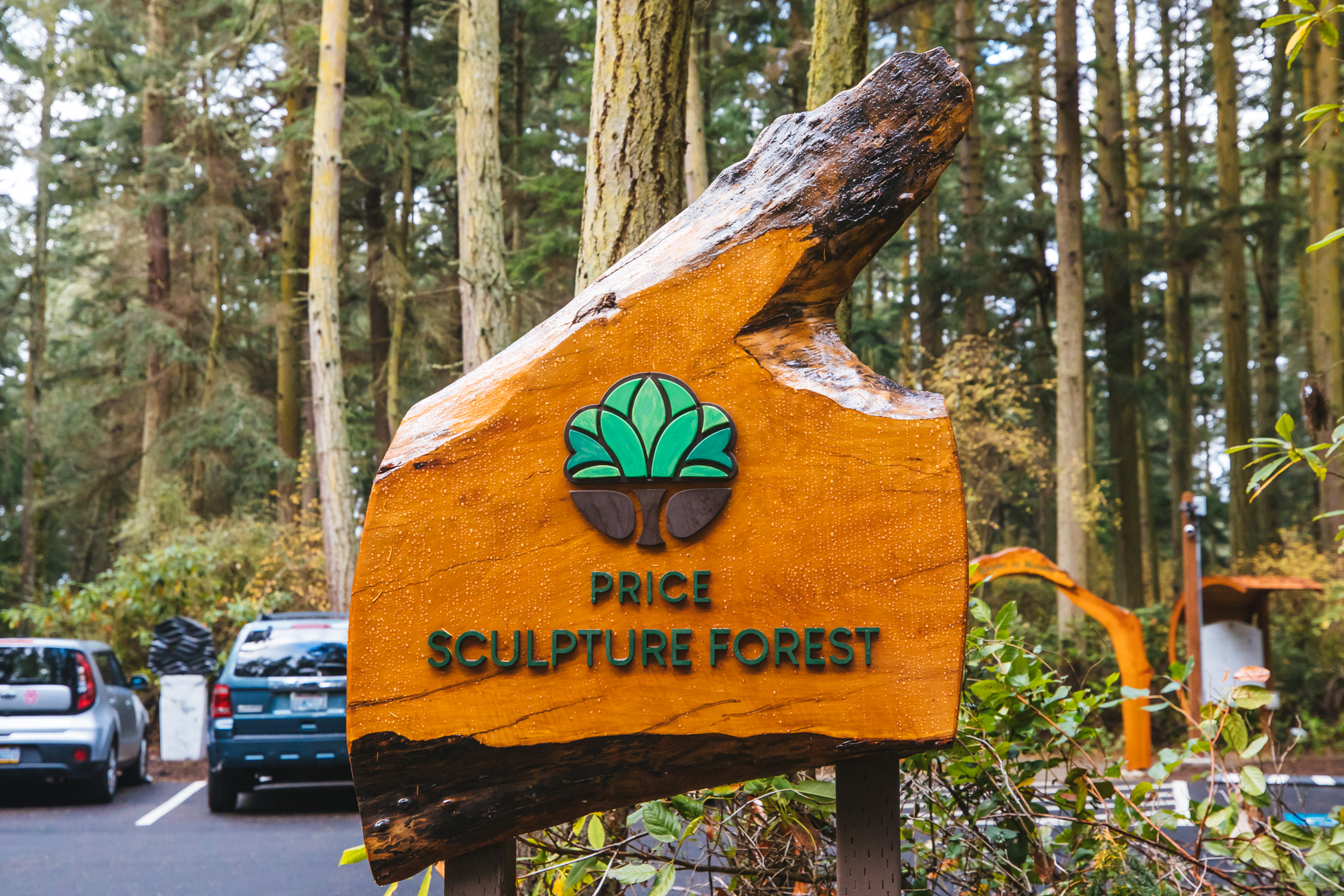 "Located 1.5 miles east of downtown Coupeville, the Price Sculpture Forest officially opened to the public in late October, and is a winding labyrinth of life-size sculptures from local artists. While some sculptures are easily spotted, others will make you work for it - hidden behind trees or handing from branches. The living trail system has two walking trail loops, each with their own theme: Nature Nurtured sculptures relate to earth's elements, while Whimsy Way sculptures are more playful. The connected loops were designed intentionally to provide significant personal space, making it an ideal activity during the era of social distancing. The park is open daily from dawn to dusk, with free public tours available{&nbsp;}<a  href=""https://sculptureforest.org/"" target=""_blank"" title=""https://sculptureforest.org/"">by request</a>. (Image: Sunita Martini / Seattle Refined){&nbsp;}"