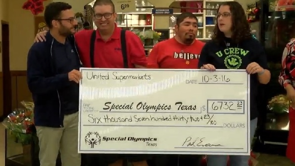 United Supermarkets raises funds for Special Olympic ...