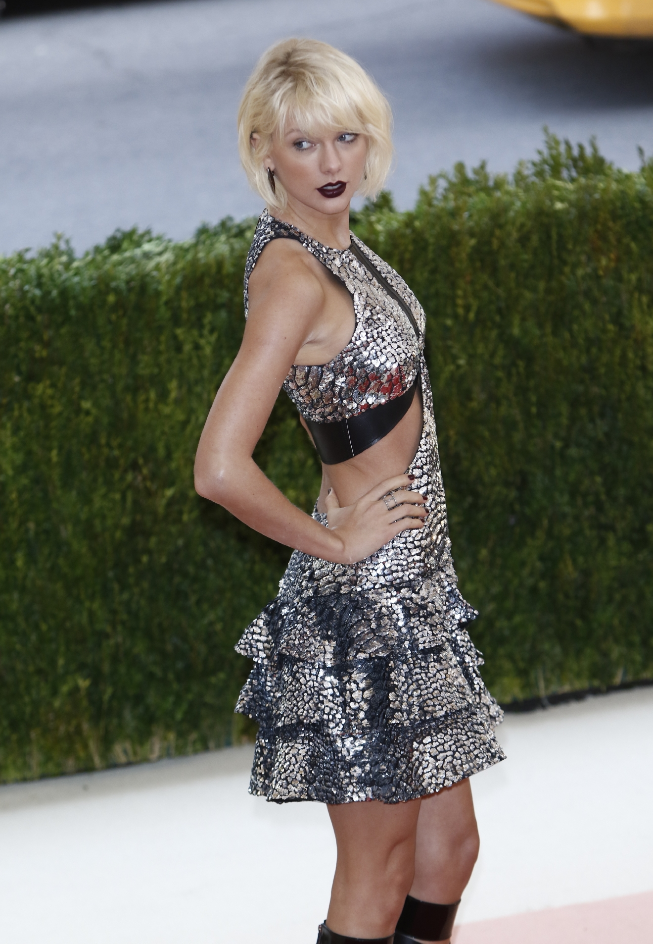 Taylor Swift at the 'Manus x Machina: Fashion In An Age Of Technology' Costume Institute Gala held at the Metropolitan Museum of Art on May 2, 2016. (WENN.com)