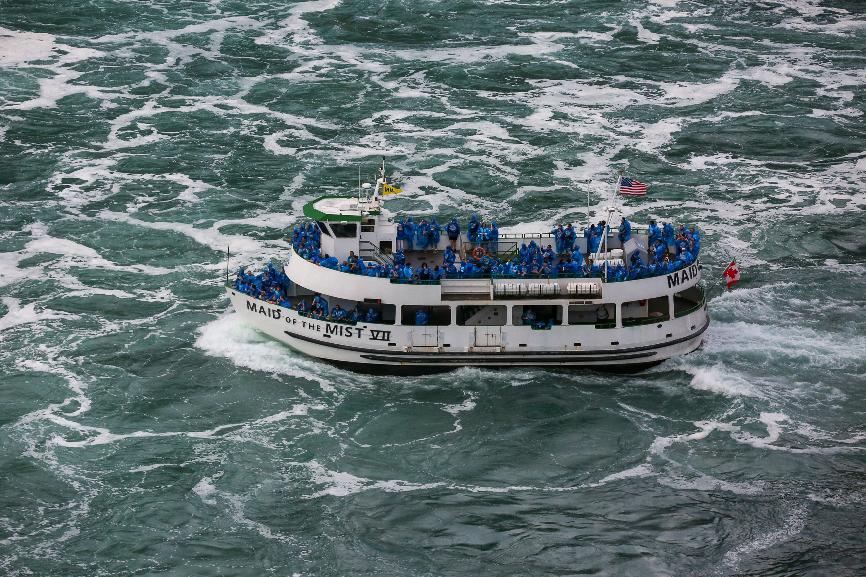 We know that boarding the Maid of the Mist and getting close to Niagara Falls is kind of what everyone does when they visit, but the views are truly unrivaled. The boat ride is quick, but just long enough to let you fulfill your fantasies from that episode of{&amp;nbsp;}<em>The Office{&amp;nbsp;}</em>where Jim and Pam eloped.{&amp;nbsp;}(Amanda Andrade-Rhoades/DC Refined){&amp;nbsp;}