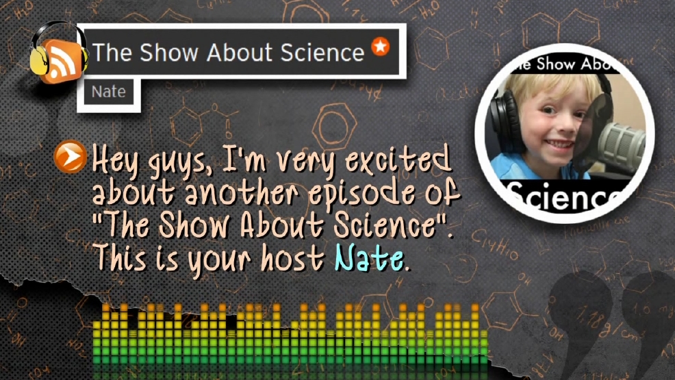 On The Bright Side Boy 6 Hosts Weekly Science Podcast