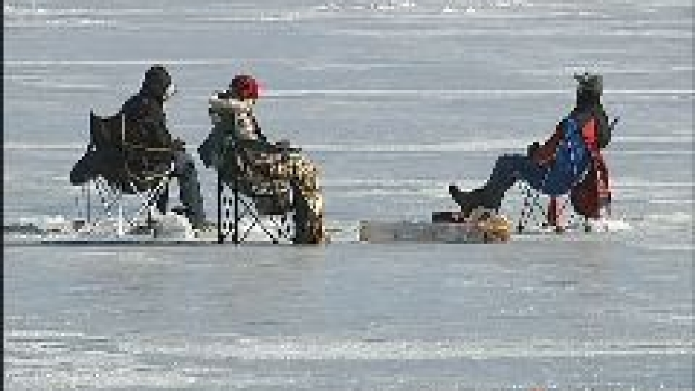 Officials warn of thin ice for michigan free fishing for Michigan out of state fishing license