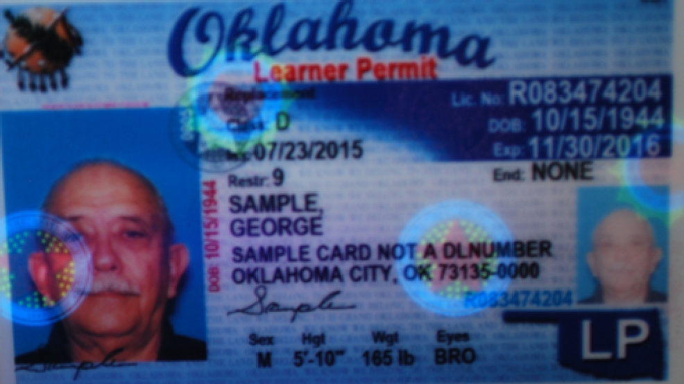 oklahoma new resident drivers license