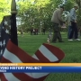 Students at Loy Norrix honoring Michigan veterans