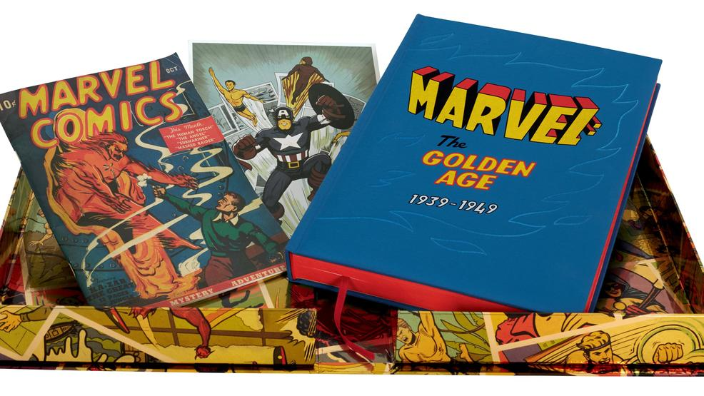 The Folio Society to celebrate Marvel's origins with 'Marvel: The Golden Age 1939-1949'