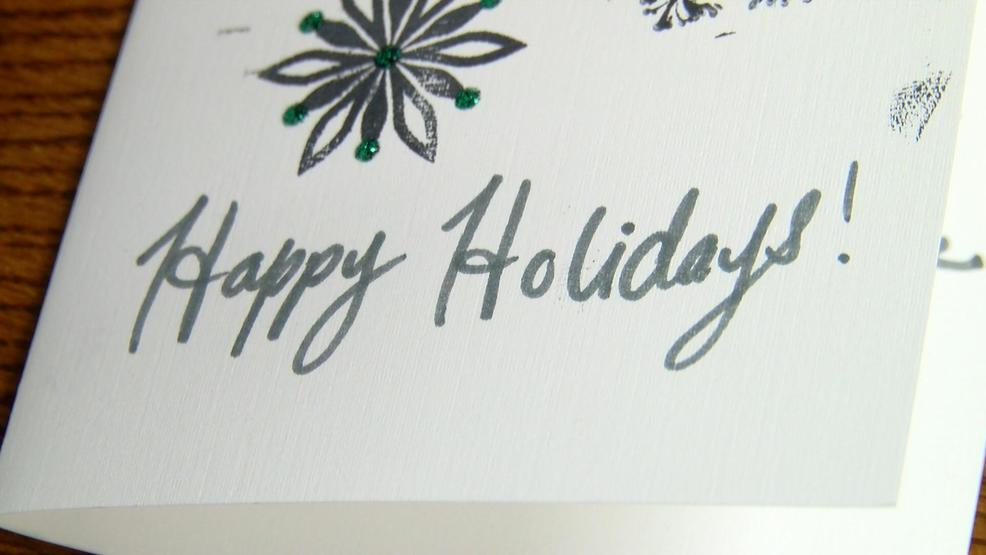handmade holiday cards spread cheer to area veterans - Christmas Cards For Veterans
