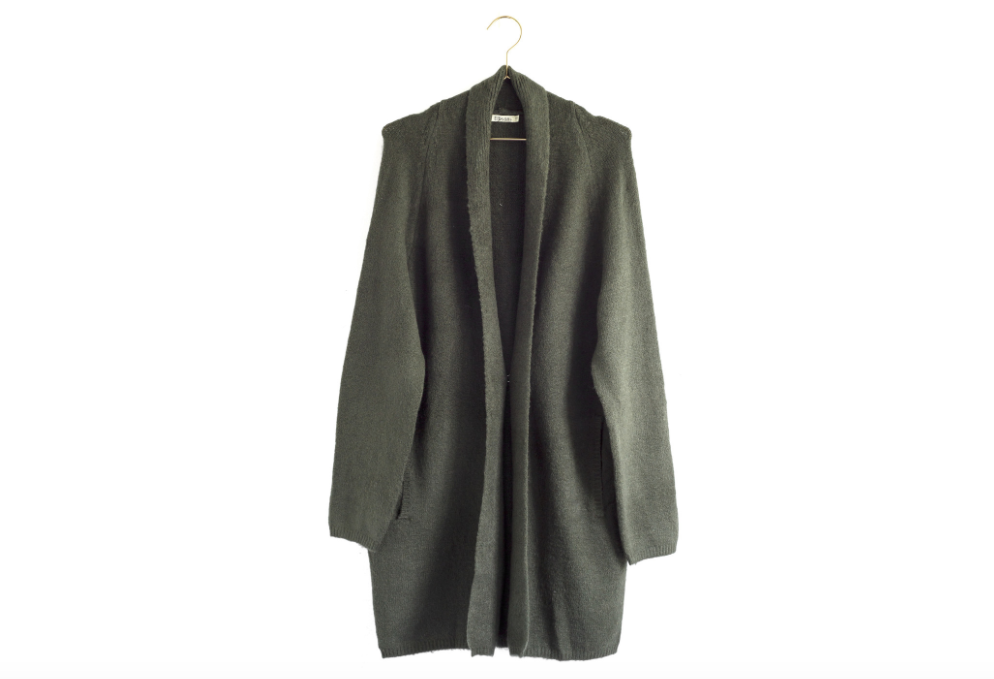 Forest Cardigan from Moorea Seal Collection ($62). Find on mooreaseal.com. (Image: Moorea Seal)