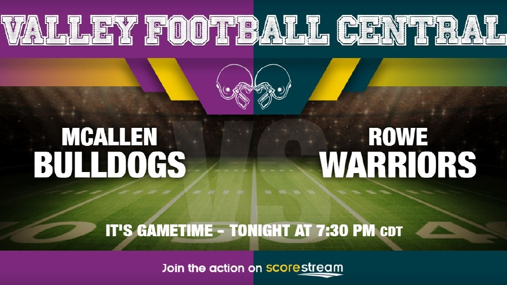 Listen Live: McAllen Bulldogs vs. McAllen Rowe Warriors