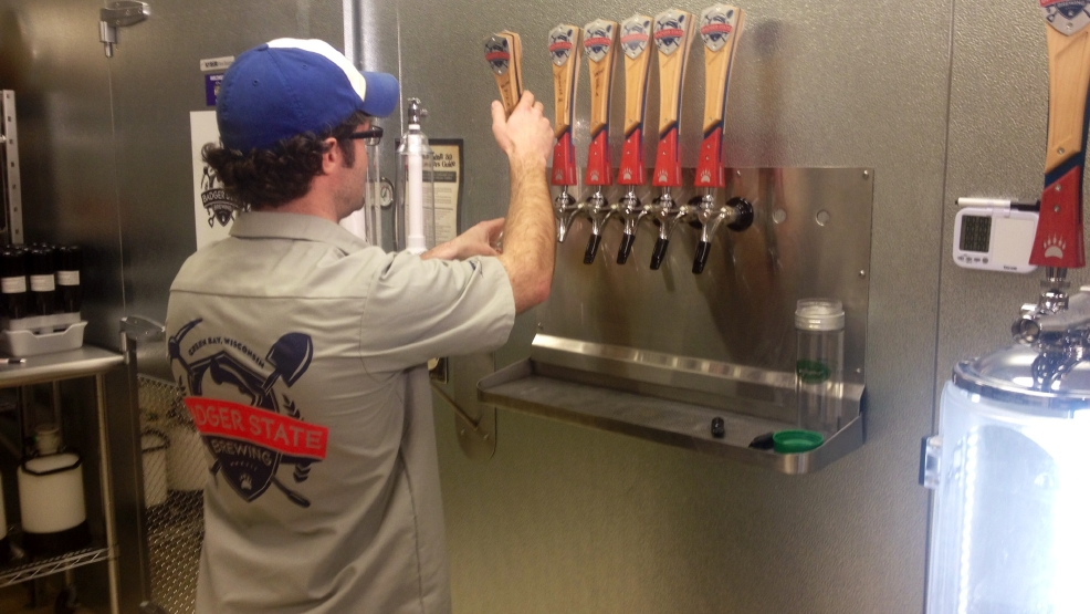 Newcomer to Green Bay craft brewing scene, Badger State Brewing Co.,  sees signs of opportunity, growth.