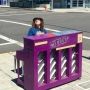 Keep it weird, Portland: Weird Al Yankovic playing Prince piano on E Burnside