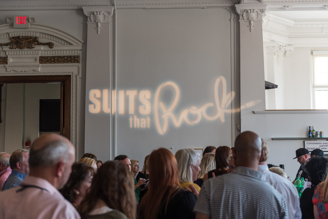 Suits That Rock: Thanks a Million brought together leaders in the local business community to take the stage at The Carnegie in Covington for a rock concert benefitting the children's education department at The Carnegie. Guests enjoyed food, drinks, and a night full of music. This year, they celebrated the milestone of raising over $1 million during the course of the event's 12 years running. / Image: Mike Menke // Published: 6.23.19