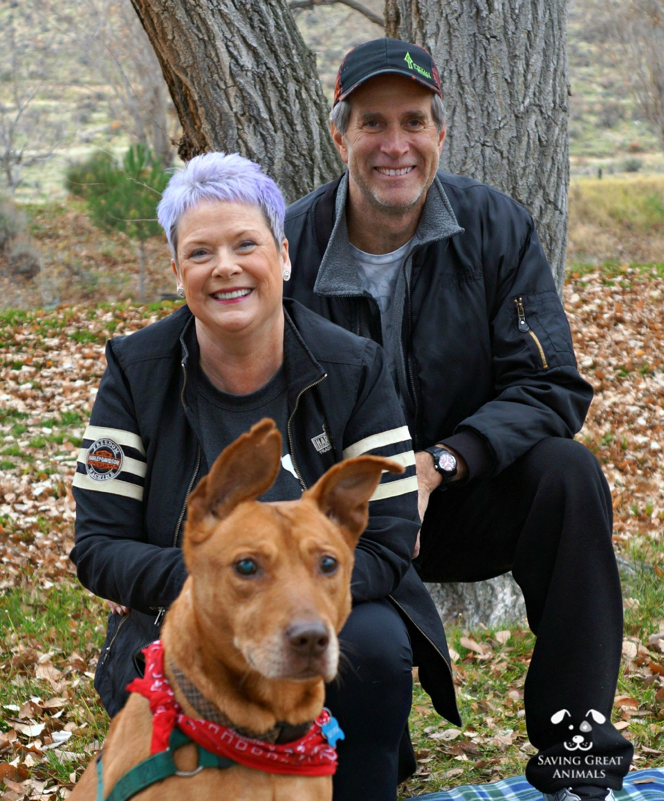 After two years of living at Best Friends in Edmonds, George was finally adopted last Friday (December 2) by Carl and Stephanie Schuur from Asotin, WA. (Image courtesy of Jacintha Sayed)