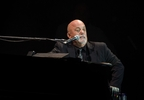 Billy Joel performs at Wembley Stadium in London, Sept. 10, 2016.