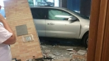 Car crashes into Cherokee Post Office