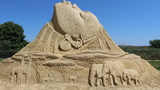 GALLERY: 10th International Sand Sculptures Festival in Burgas, Bulgaria