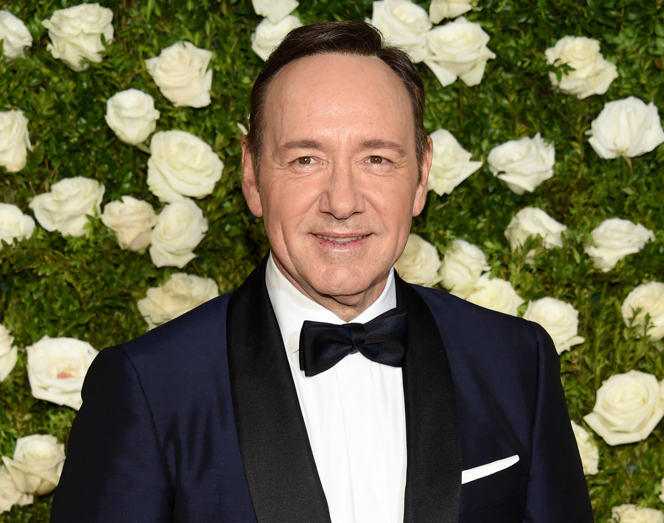FILE - In this June 11, 2017 file photo, Kevin Spacey arrives at the 71st annual Tony Awards at Radio City Music Hall in New York. High-profile sex-related accusations against celebrities, politicians and media members have put a spotlight on sex addiction. Skeptics question whether it's a true addiction or a made-up condition used by misbehaving VIPs to deflect blame.  Spacey has been accused by at least two dozen men of sexual misconduct or assault. A former publicist for Spacey said he is seeking unspecified treatment.(Photo by Evan Agostini/Invision/AP, File)