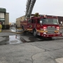 Trailer catches fire at Salt Lake City warehouse