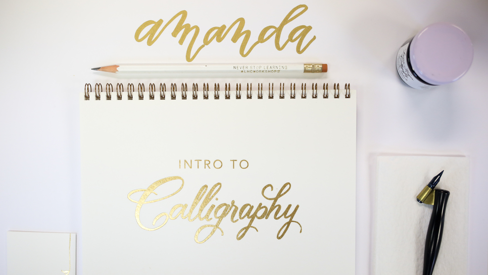 A beginners guide to calligraphy dc refined