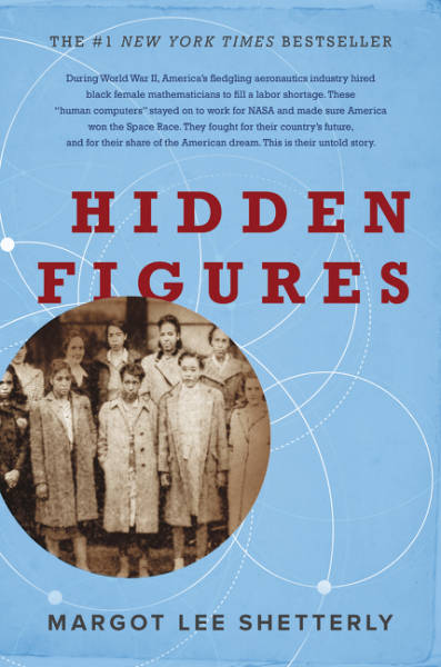"""Hidden Figures"" by Margot Shetterly (Image: University Book Store / Harper)"