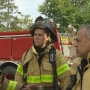 NBC 10's Matt Reed trains with Warwick firefighters