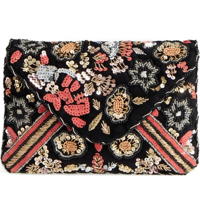 Sole Society Floral Sequin Clutch from Nordstrom // Price: $54.95 // (Nordstrom // Nordstrom.com)<p></p>