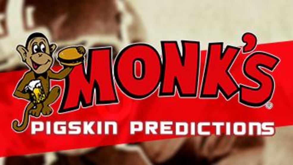 Monk's Bar & Grill's Pigskin Predictions 2019 Contest