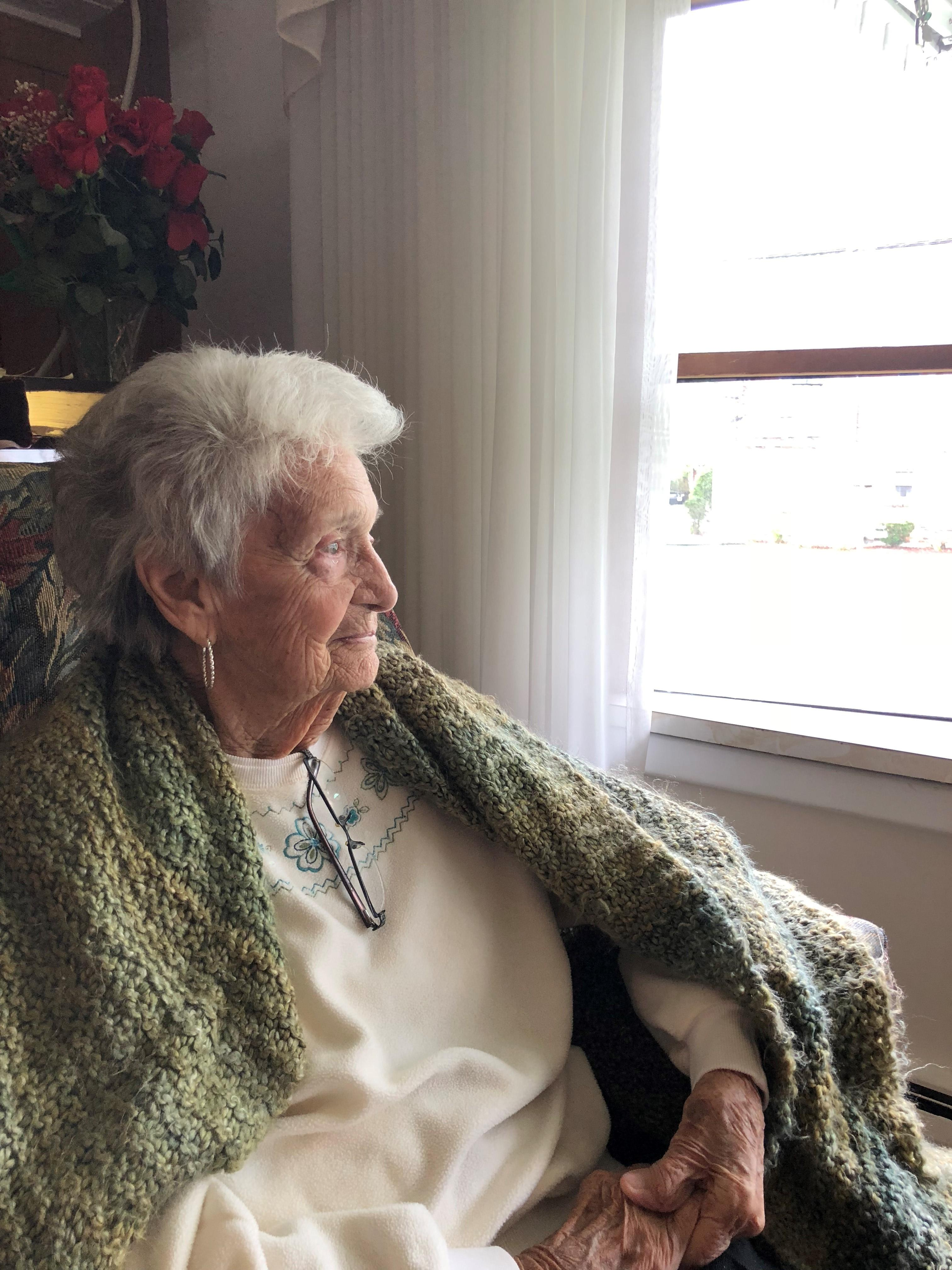 "Ann Benny says she does feel lonely at times, although an audio book reading device she keeps close at hand does help. ""I'd be lost without it,"" she said."