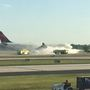 Plane returns to Atlanta airport after engine begins smoking