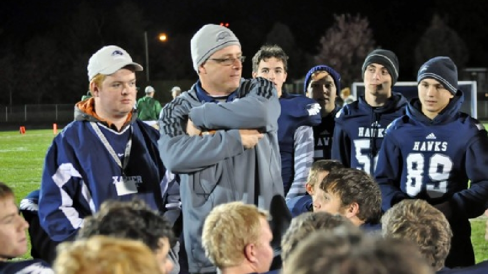 Coach Dave Hinkens and the Xavier football team will move to the Bay Conference for the 2015-16 season. (Doug Ritchay/WLUK)