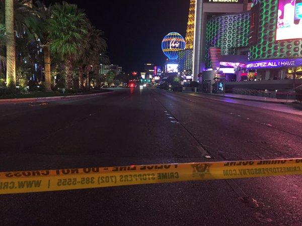 Woman Intentionally Driving On Las Vegas Strip Sidewalk