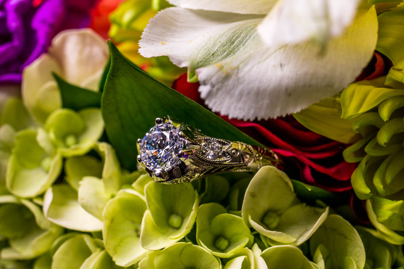 The Venitian Crown Ring / Image: Catherine Viox{ }// Published: 10.8.19