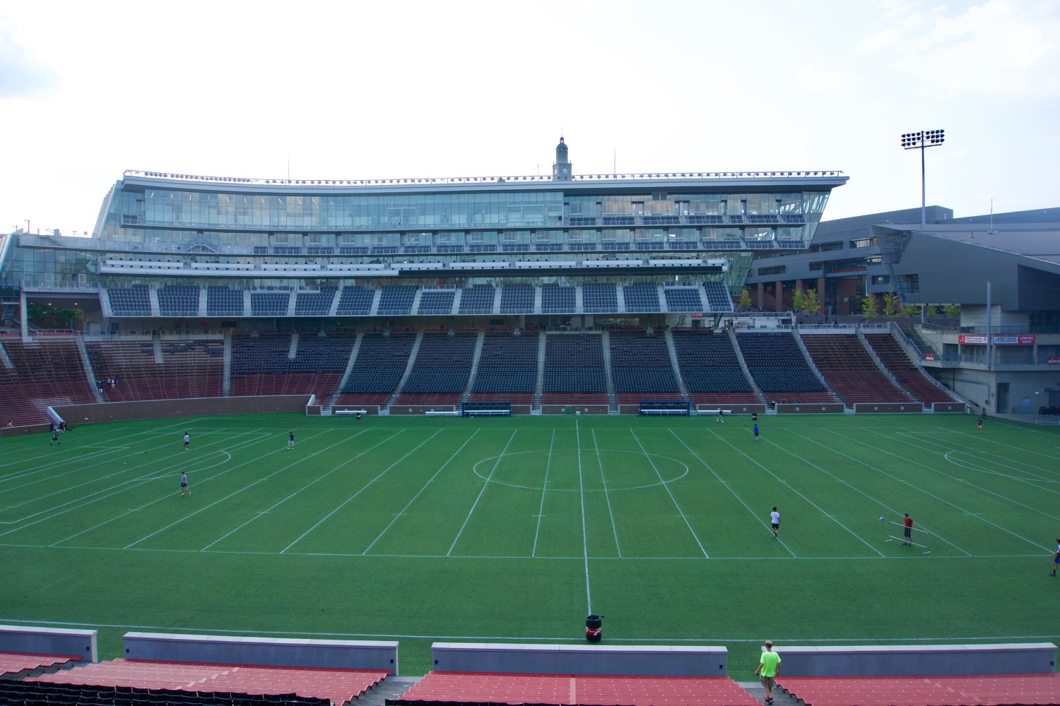 4. ITS FIELD HAS A NAME ALL ITS OWN: Nippert may be on the masthead, but it's Carson Field. Arch Carson was captain and principal organizer of UC's inaugural 1885 football team. Later, as physical director of the university, Carson shepherded the construction of the athletic field that would later bear his name. He even had the honor of acting as the referee during its first official game in 1901.  / Image: Brian Planalp // Published: 10.21.17