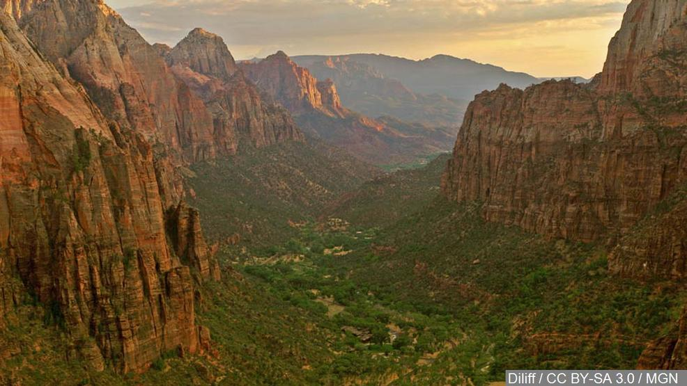 Flash Flood Warning issued for Zion National Park