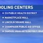 Cooling centers in Champaign announced