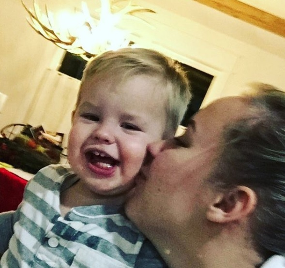 Utah mother's tearful message to son before adoption: 'He'll Always Know I Loved Him' (Photo: Hannah Mongie's Instagram Account)