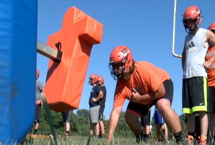 Adam Kirchner fronts an imposing Beardstown Offensive Line that returns all five starters from last season