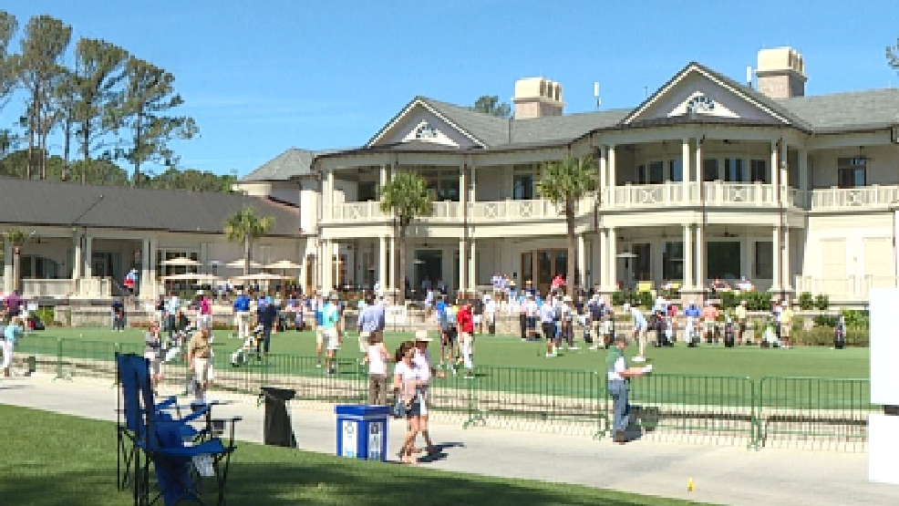49th rbc heritage golf tournament begins on hilton head island wtgs the clubhouse on sea pines will house some of the spectators for the weeklong rbc heritage tournament photo ian dembling publicscrutiny Images