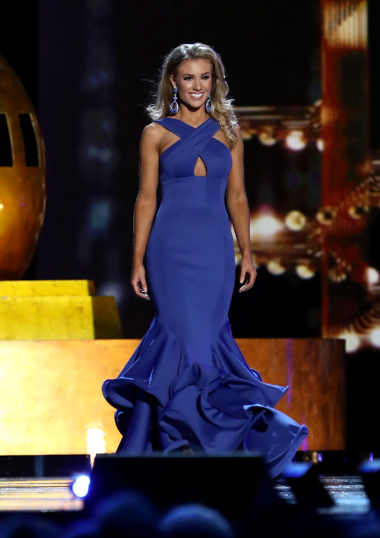 2017 Miss America Preliminary competition Day 2 at Boardwalk Hall ...
