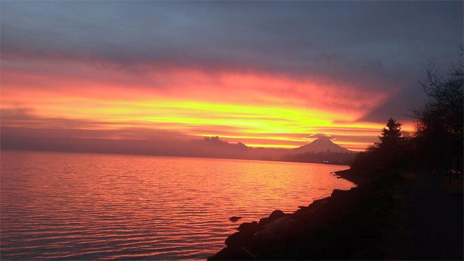 Samish Bay Sunset (Jim Stiles)